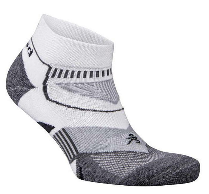 Balega Enduro V Tech Quarter Athletic Running Socks White Sm