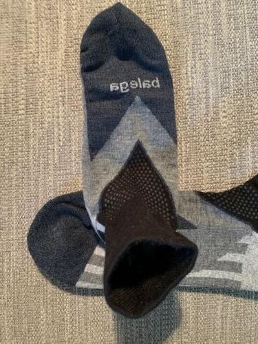 Balega V Quarter socks Unisex Medium Black NIP