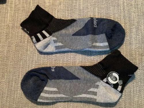 Balega Quarter socks Unisex Medium Black Charcoal NIP