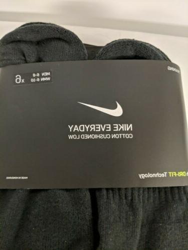 Nike Cushioned Socks Size 6-8 WMN