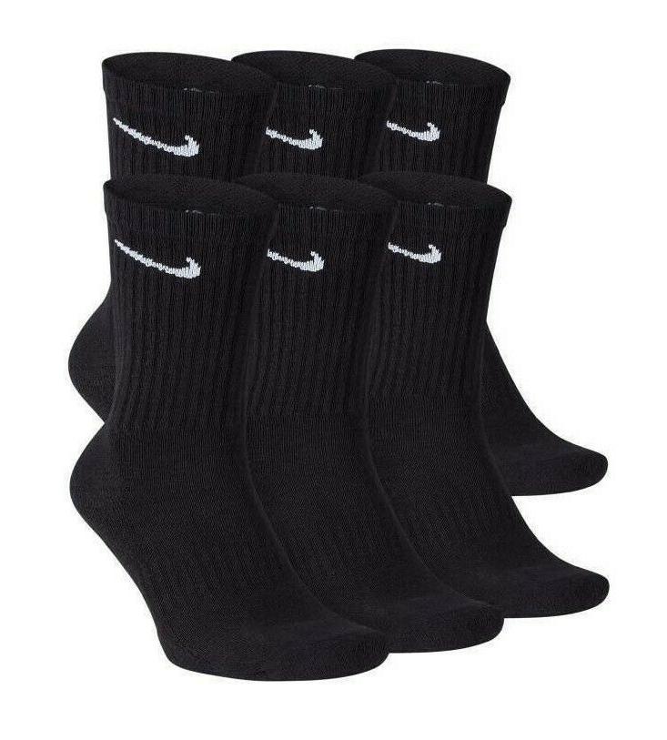 everyday plus 6 pair pack crew cotton