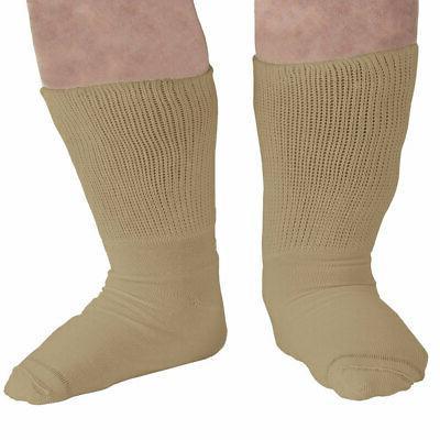 Extra Wide Sock Mens Bariatric Diabetic Crew Socks Shoe Size