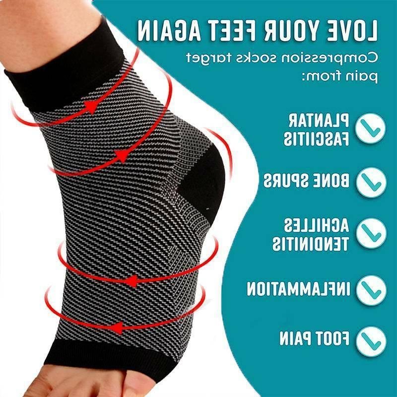 Plantar Socks Arch Running For Mens Women