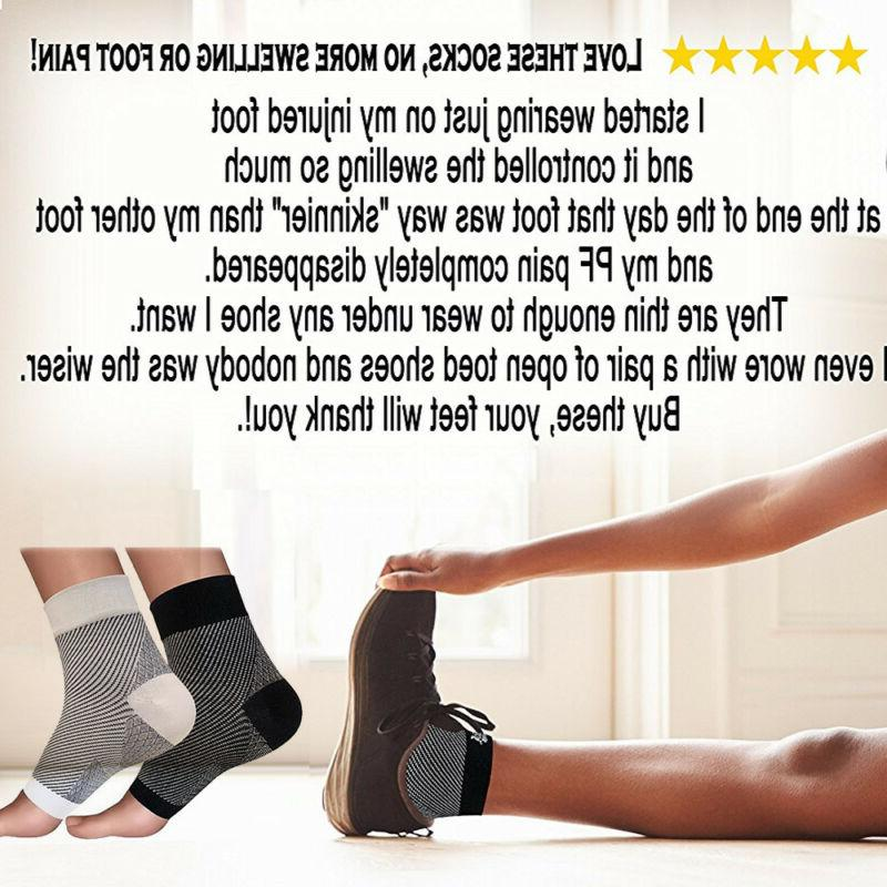 Foot Anti-Fatigue Socks Ankle Relief Pain