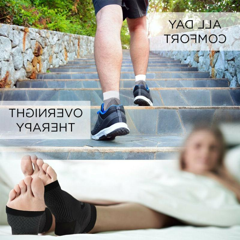 Foot Compression Socks Ankle Support Sleeve Relief Pain