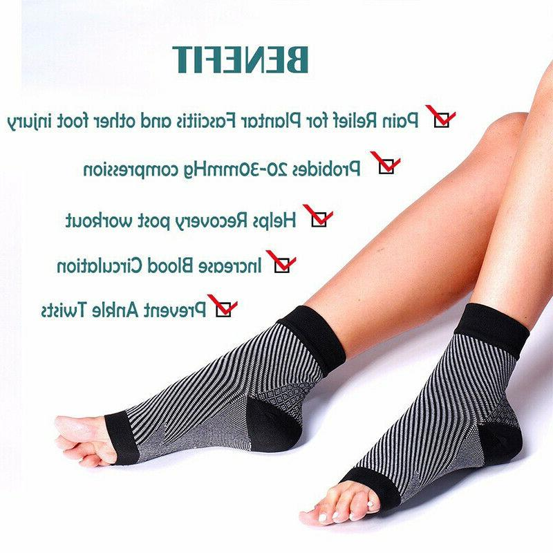 Foot Anti-Fatigue Ankle Support Sleeve Relief