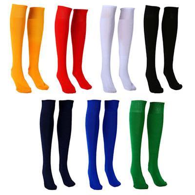 Football Plain Long Sock Sport Knee Large Hockey Noted