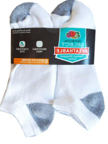 fruit of the loom breathable 6pk white