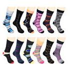 funky dress socks casual cotton
