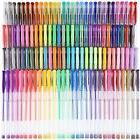 120 Colors Gel Pen Set Art Supplies Coloring Sketching Doodl