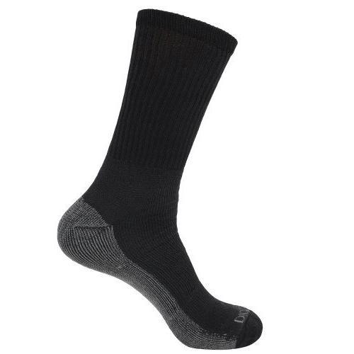 Dickies Mens 5-Pair Crew Style Socks - Black