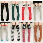 Girls Long Socks Lovely Cartoon Animal Ears Thigh High Over
