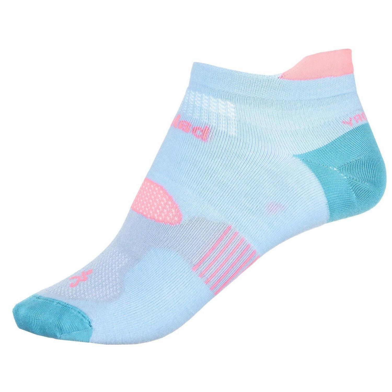 hidden dry cool blue running socks unisex