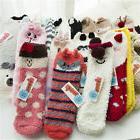 Hot Women Girls Animal Winter Fluffy Warm Bed Sleep Socks Ch