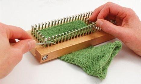 KB Sock Loom Adjustable Wood Knitting Board Kit