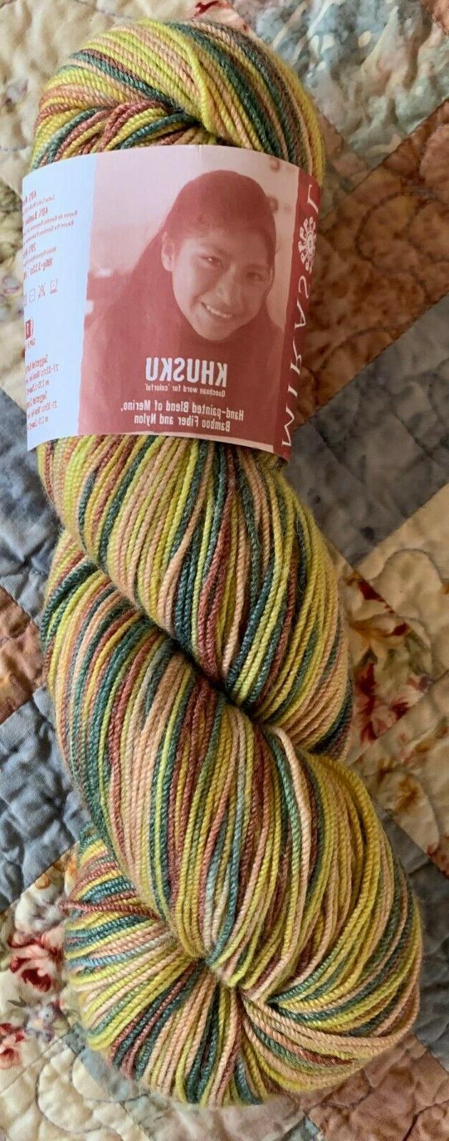 Mirasol Khusku Yarn; 16 Colors