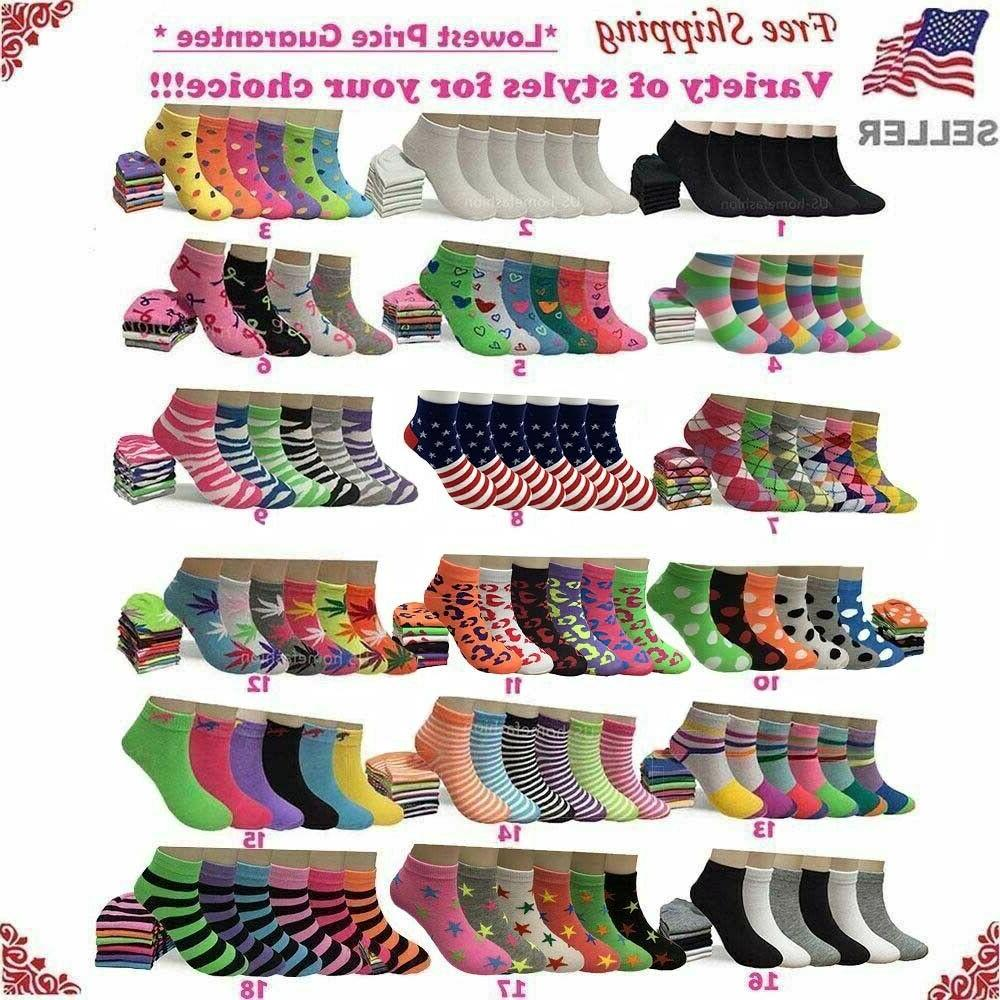 lot 6 12 pairs womens assorted styles