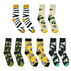 MagiDeal Casual Cotton Crew Socks Animal Art Patterns for Me