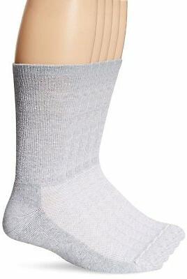 Hanes Men 5-Pack Ultimate FreshIQ X-Temp Crew Socks