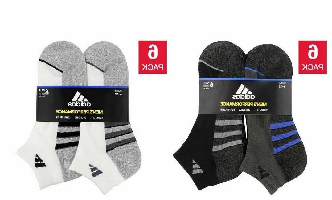 men s 6 pair low cut sock