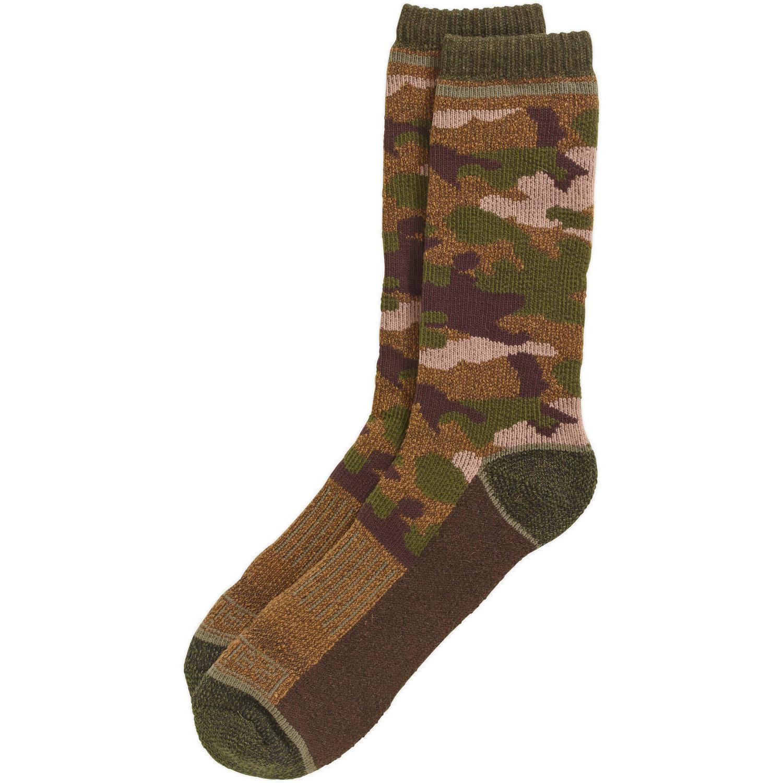 men s all season camo crew sock