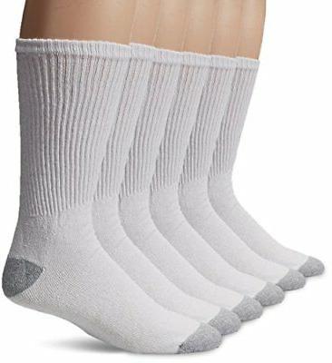 Gildan Men's Athletic Crew Socks 10 Pairs Big And Tall Plus