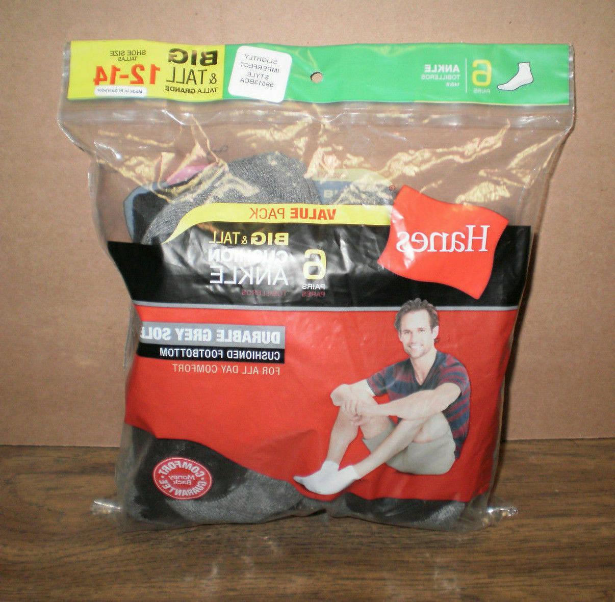 Hanes Men's Classics Socks Sock Size: 6-12,