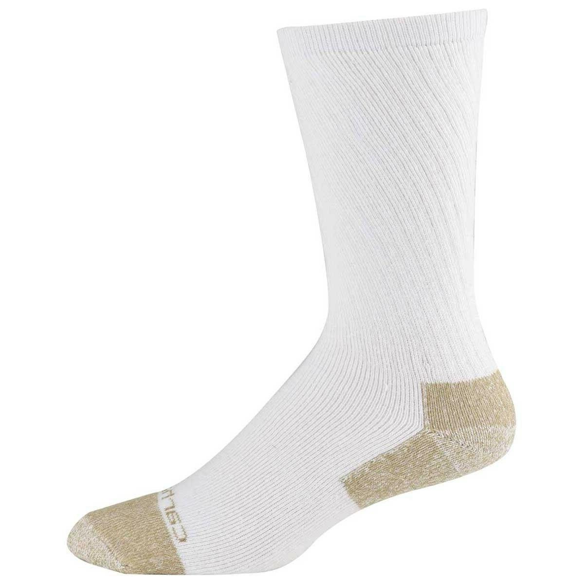 men s cotton steel toe crew sock