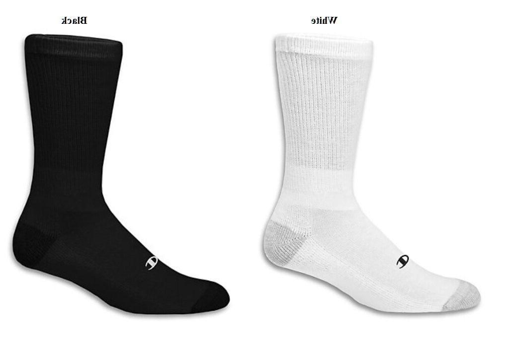 men s crew socks 6 prs double