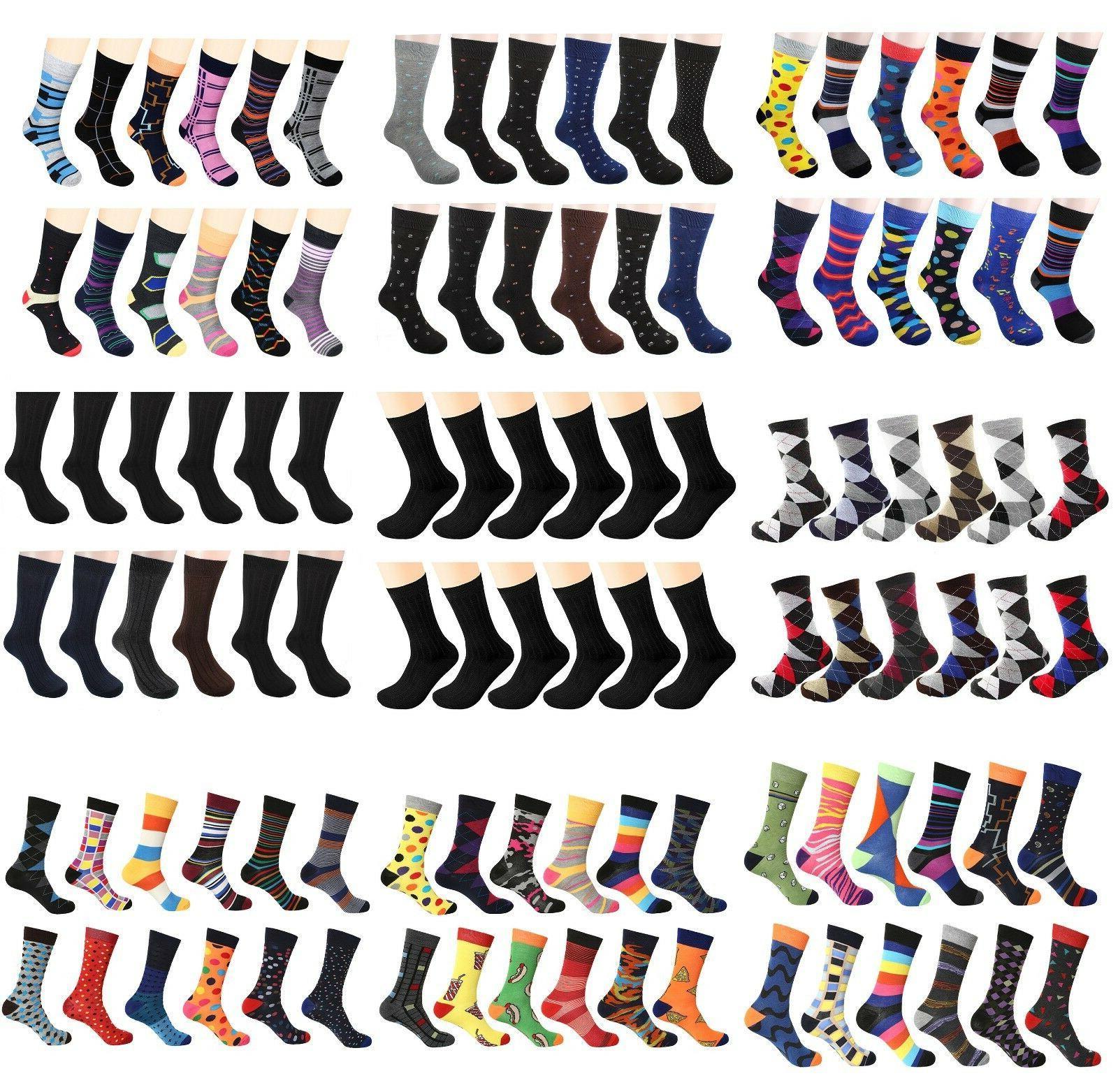 men s dress socks funky fashion casual