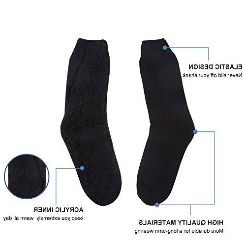 Men's Extremes Cold Boot Thermal Fuzzy Socks Ultra Heavy Mens Teen Socks Kids Youth Foot Warming Socks
