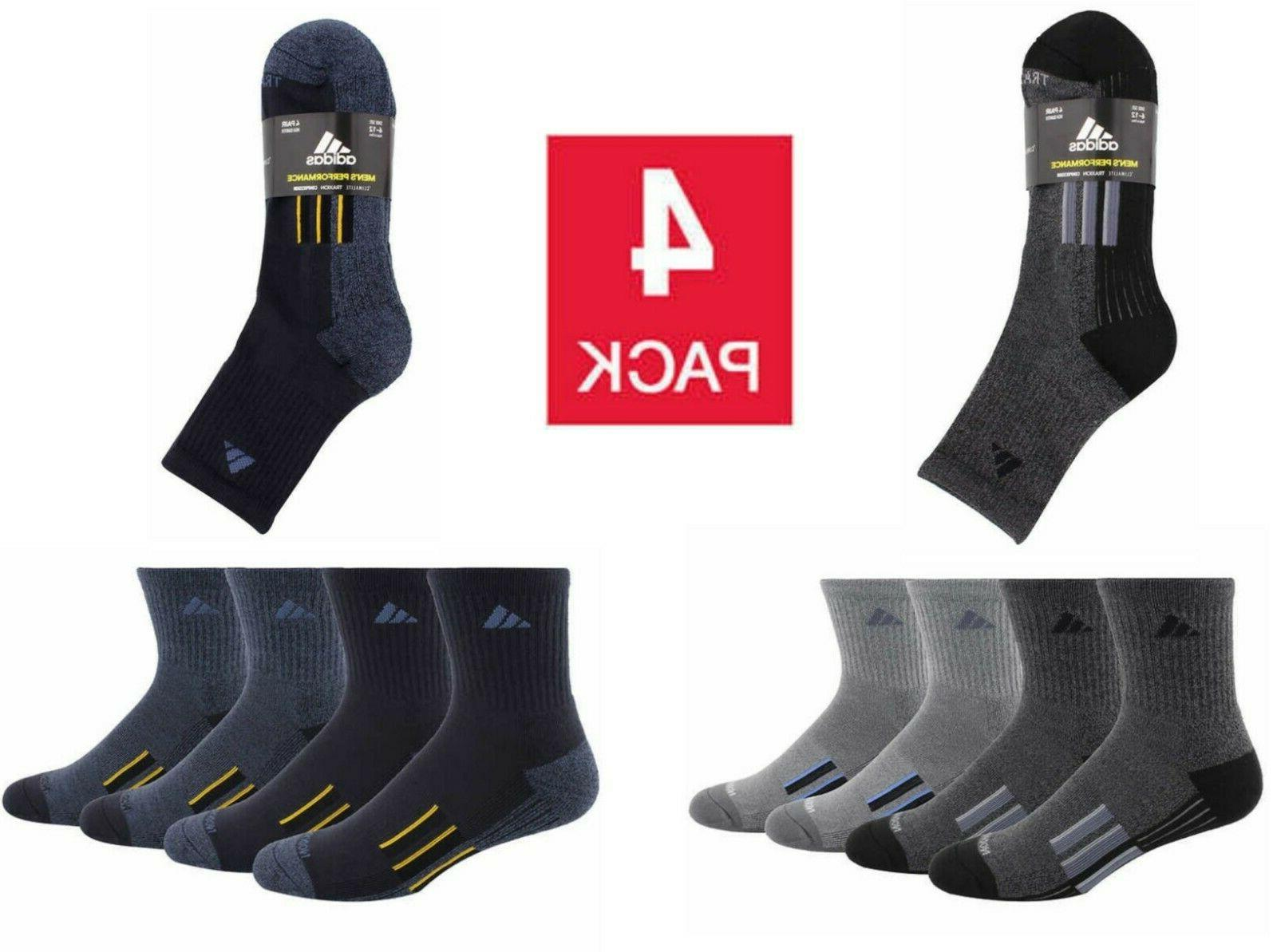 men s high quarter socks with climalite