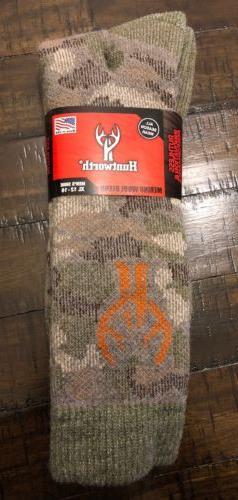 Men's Merino Wool Blend Socks - Camo XL For Size 12-16. Grea