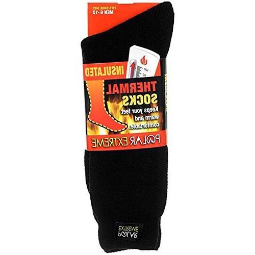 men s moisture wicking insulated thermal socks