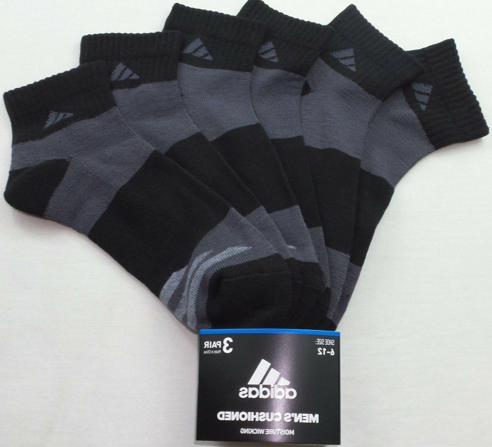 adidas Men's Socks Pair Pack Large New