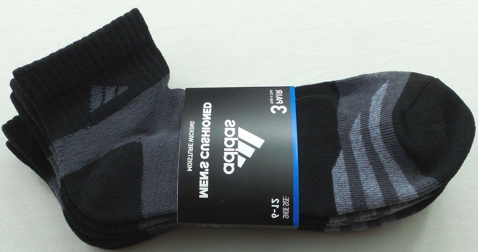men s quarter crew socks 3 pair