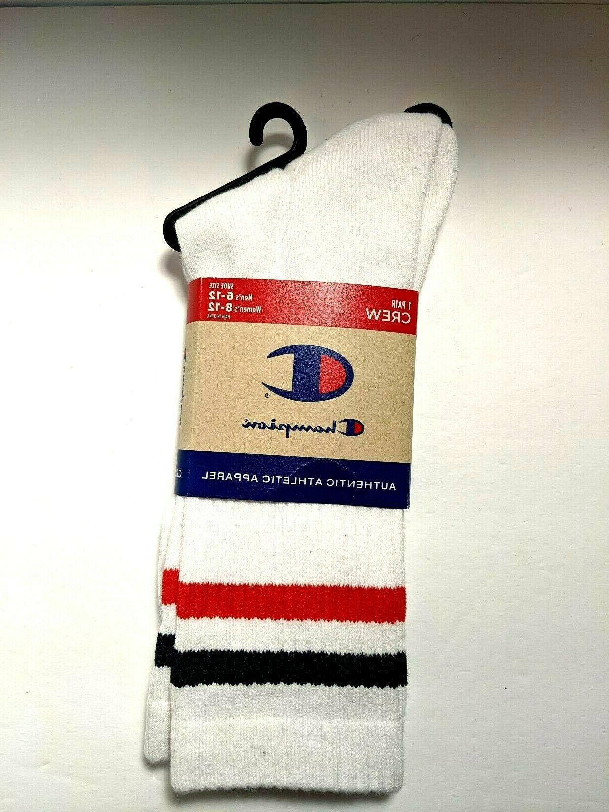 CHAMPION Big Crew Socks Size Style