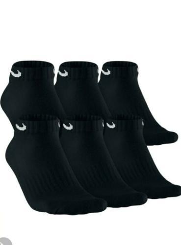 Nike Socks Low Cotton Black or Pack Pair