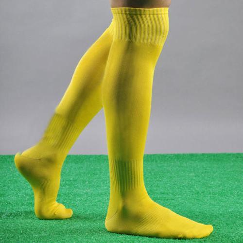 Men's Sport Soccer Long Socks Knee High Sock 2019
