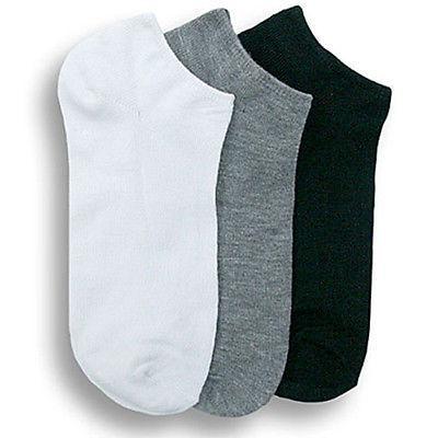 Men 9-11 Socks Low Show 3-6-12P