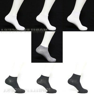 Men Women 10-13 Sports Socks Crew Socks Cut Show