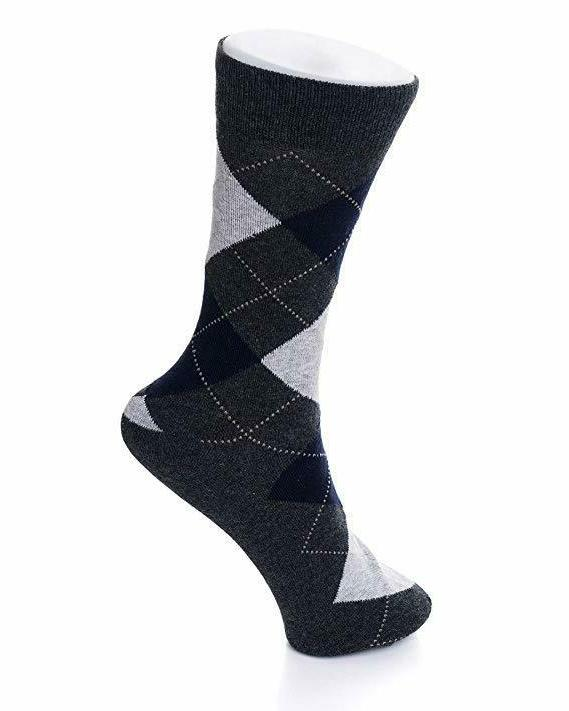 Alpine Mens 6 Solid Argyle Size