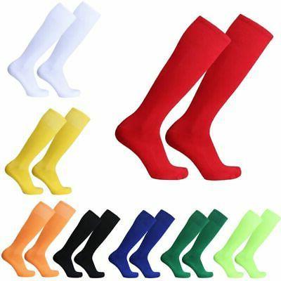 Mens Cotton Sport Hockey Over Knee Socks