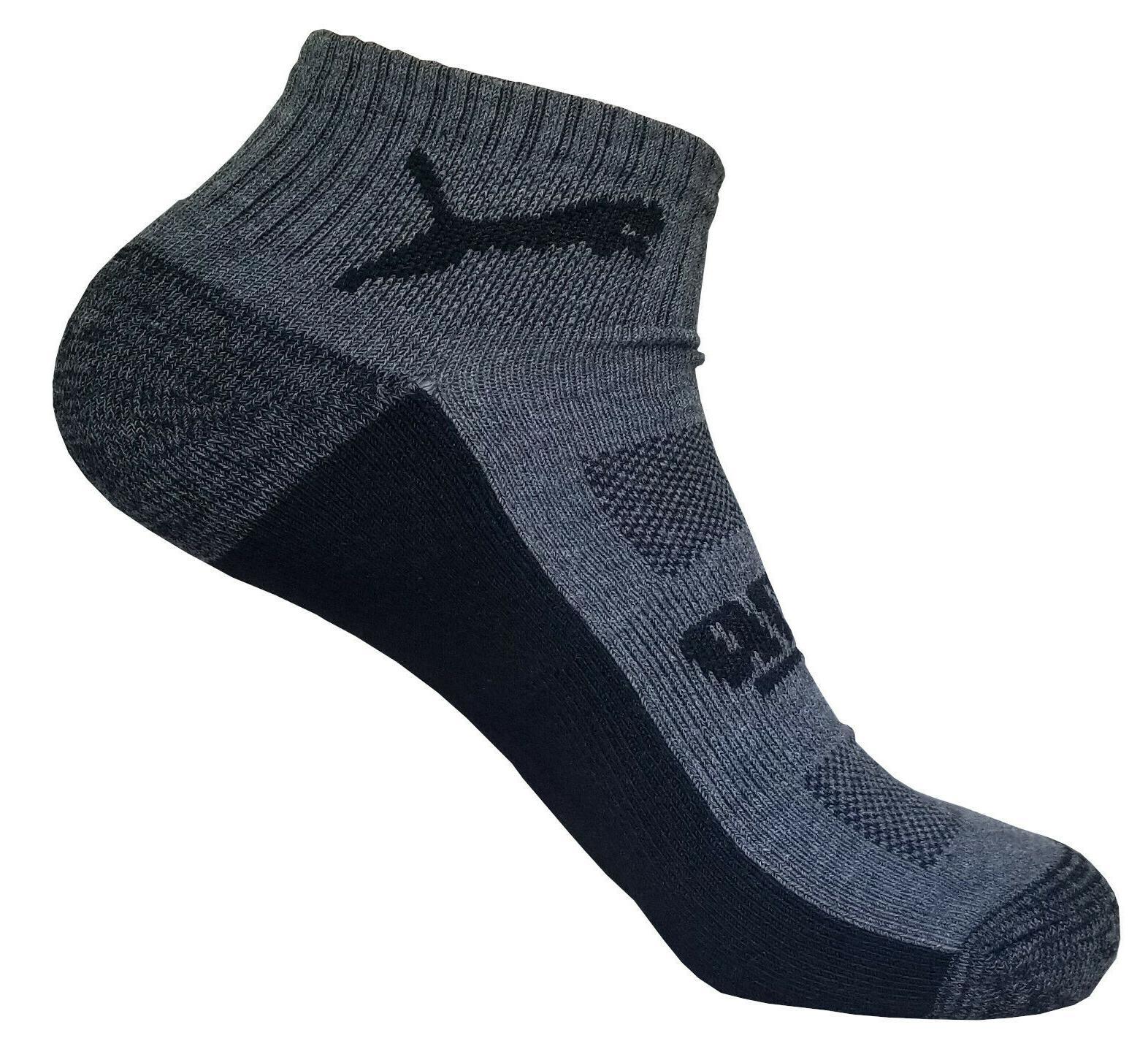 puma mens low quarter sock 6 pairs size 6-12
