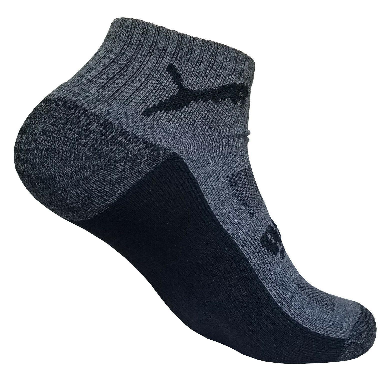 puma fit low quarter sock size shoe