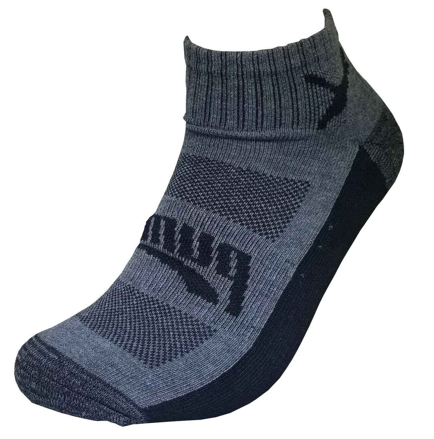 puma mens dri fit low cut quarter sock size shoe
