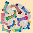 Mens Happy Socks Art National Totem Cotton British Style Cas