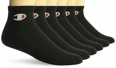mens logo ankle socks 6 pack