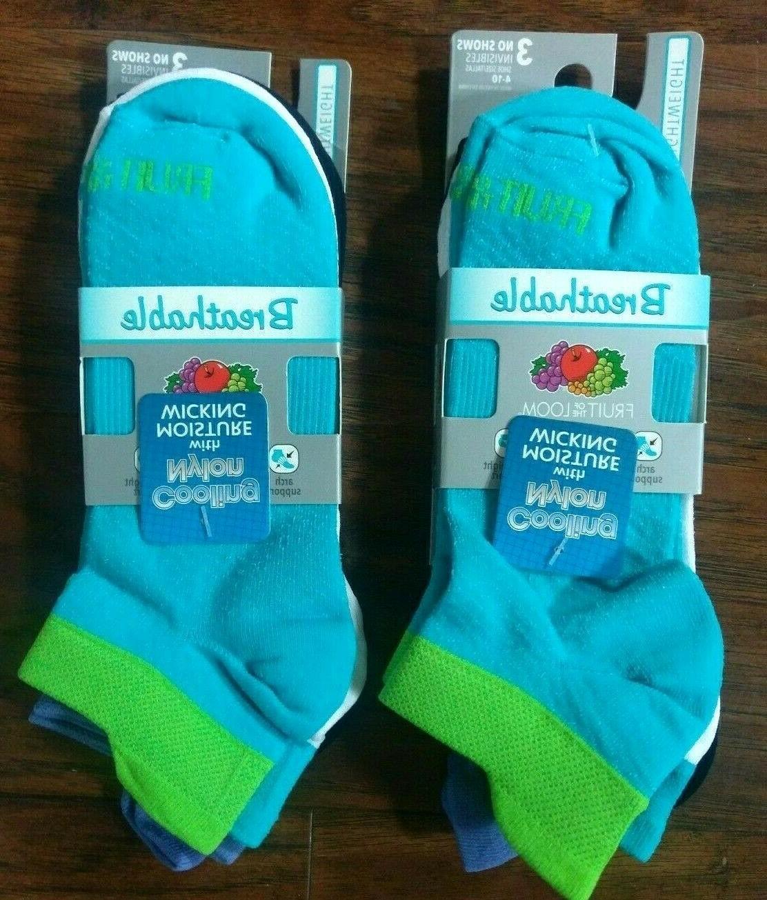 Fruit of the Loom Mens Socks Womens Standard 3 Pack Breathab