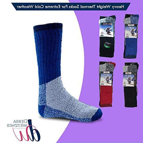 Mens Socks Extreme Cold Weather Socks DEBRA WEITZNER,